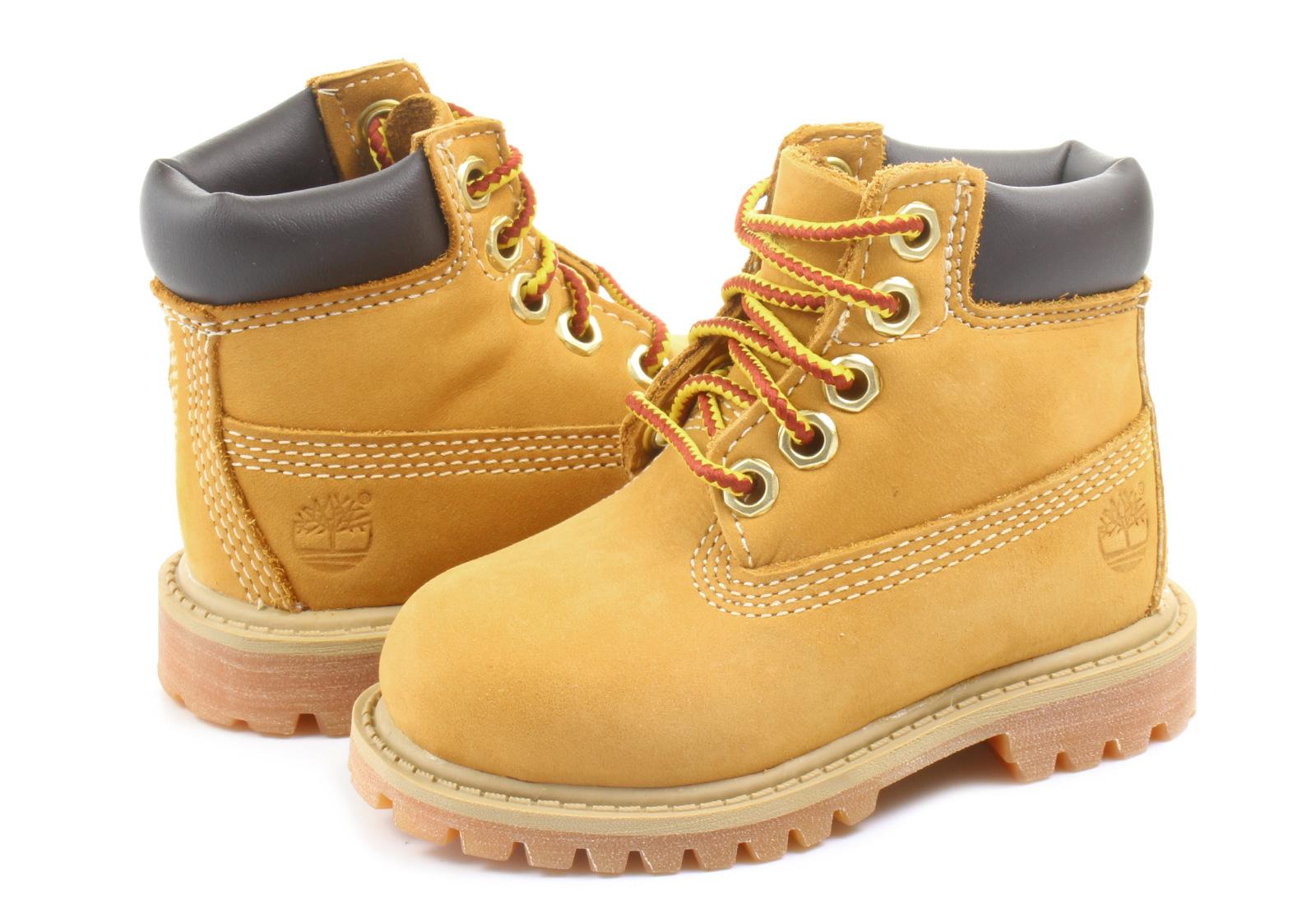 sklep dyskontowy kup sprzedaż Data wydania: Timberland Buty za kostkę - 6 Inch Prem Boot - 12809-BLE - Obuwie i buty  damskie, męskie, dziecięce w Office Shoes