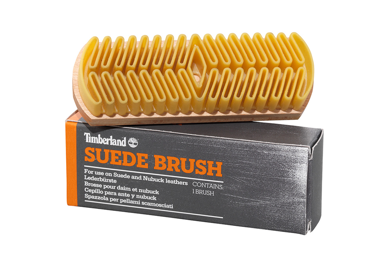 Timberland Pielęgnacja obuwia Suede Brush A1FNM 000 Obuwie i buty damskie, męskie, dziecięce w Office Shoes