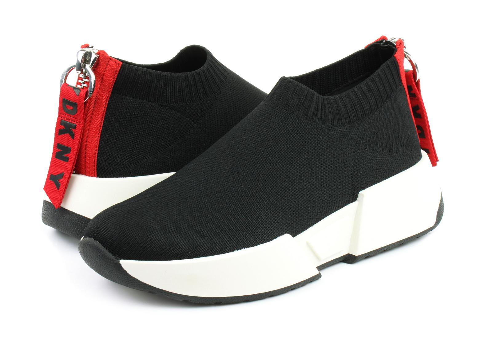 DKNY Półbuty Marcel Slip On Sneaker K2930012 BLK Obuwie i buty damskie, męskie, dziecięce w Office Shoes